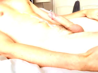 twink Hot uncut twink cums be required of me on chat uncut