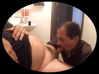 husband sucking
